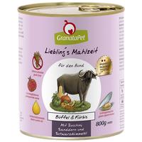 GranataPet Angus marhahúsos és sütőtökös konzerv kutyáknak