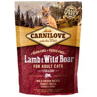 CarniLove Cat Adult Sterilised bárány- és vaddisznóhússal | Száraztáp ivartalanított macskáknak