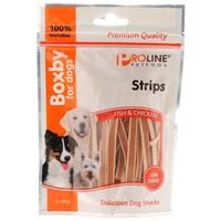 Proline Boxby Strips jutalomfalatok csirkehússal és hallal kutyáknak
