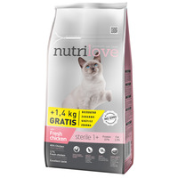 Nutrilove Cat Adult Sterilized Chicken