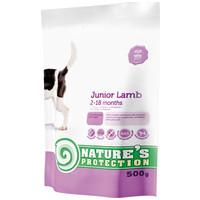 Nature's Protection Dog Junior Lamb   Bárányhúsos táp növendék kutyáknak