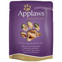 Applaws alutasakos macskaeledel csirkemellel és vadrizzsel