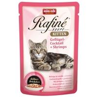 Animonda Rafine Soupé Kitten – Szárnyaskoktél és garnéla