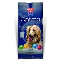 Visán Optima Dog Adult Lamb & Rice