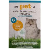 Re-pet-a szőr-, bőrtápláló tabletta macskáknak
