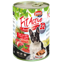 FitActive Dog Adult Beef with Beef Liver & Lamb with Apple