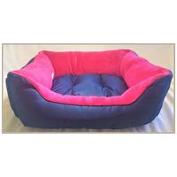 Kék-pink kutyafekhely