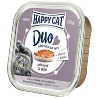 Happy Cat Duo marha és vadhúsos pástétom falatkák