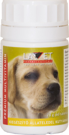 Lavet prémium multivitamin tabletta kutyáknak