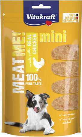 Vitakraft Meat Me Real Chicken Mini húsfalatok kutyáknak Németországból
