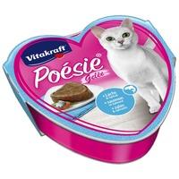 Vitakraft Poésie aszpikos macskaeledel lazaccal és spenóttal alutálkában