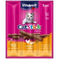 Vitakraft Cat Stick Classic szárnyasos és májas húsrudak macskáknak