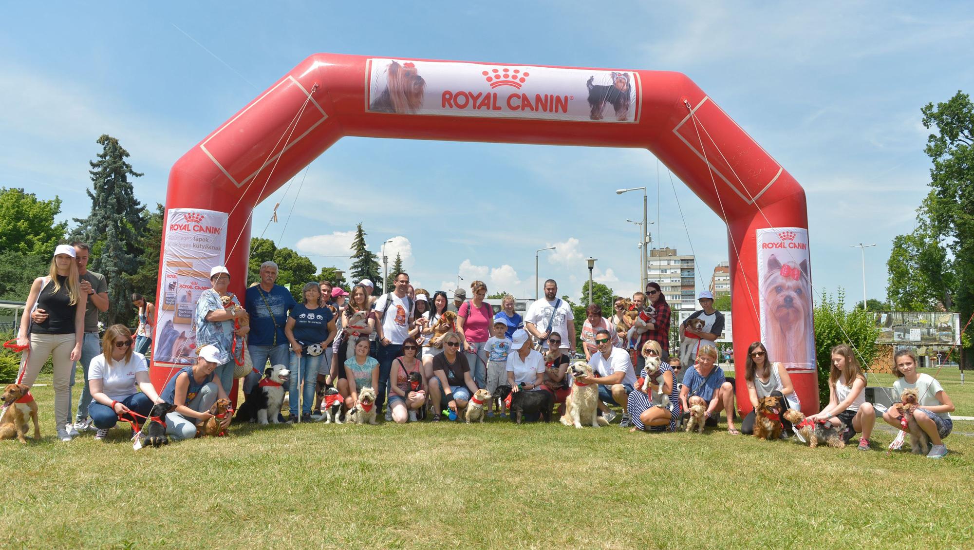 Résztvevők Royal Canin DogWalk