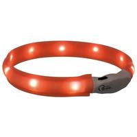 Trixie USB Flash Light Band - Világító nyakörv kutyáknak