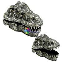 T-Rex koponya levegőporlasztós akvárium dekoráció