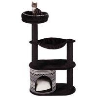 Trixie Giada macskabútor párnázott kilátóval, bújókuckóval és függőággyal