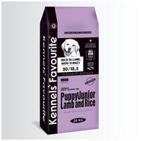 Kennel's Favourite Puppy & Junior Lamb & Rice   Táp kölyök és junior kutyáknak bárányhússal