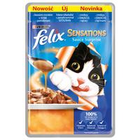 Felix Sensations Sauce Surprise pulykahússal és baconnel szószban