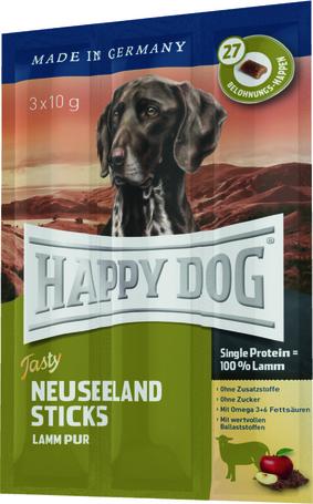 happy dog tasty neuseeland sticks. Black Bedroom Furniture Sets. Home Design Ideas