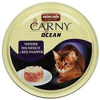 Animonda Carny Ocean fehér tonhalas és vörös sügéres konzerv
