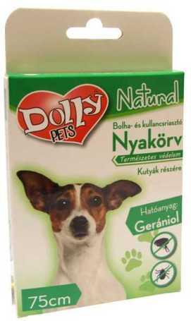 Dolly Natural Bolha és kullancsriasztó nyakörv kutyák részére (75 cm)