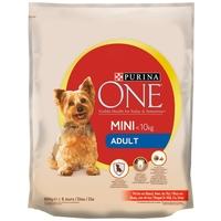 Purina One Mini Adult marhában gazdag száraz kutyaeledel kistestű kedvenceknek