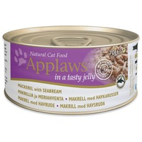 Applaws konzerv macskáknak makrélával és tengeri keszeggel aszpikban