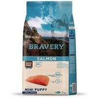 Bravery Dog Puppy Mini Grain Free Salamon | Kutyatáp Spanyolországból kis termetű kölyök kutyáknak | Gabonamentes