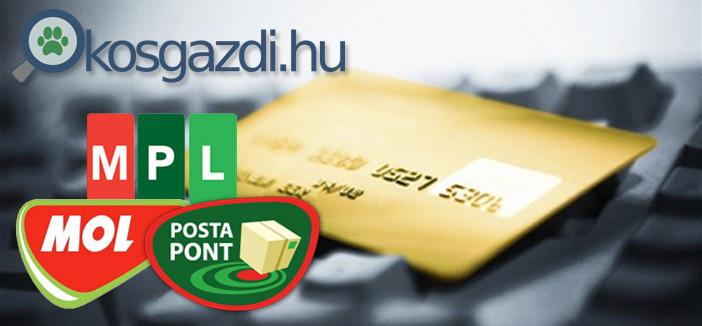 Okosgazdi kutyatáp webáruház - Online bankkártyás fizetés, MPL, PostaPont kiszállítás