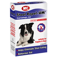 M&C Stool Repel-UM viselkedésjavító tabletta kutyáknak
