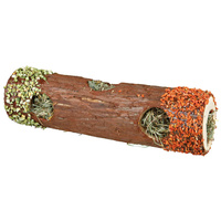 Trixie fa alagút rágcsálónak szénával és hibiszkusszal