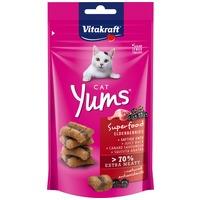 Vitakraft Cat Yums Superfood extra puha jutalomfalat kacsával és bodzával macskáknak
