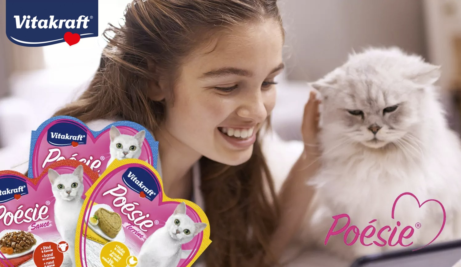 Vitakraft Poésie alutálkás macskaeledelek