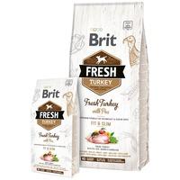 Brit Fresh Turkey with Pea Adult Fit & Slim | Diétás eledel friss pulykahússal és borsóval