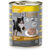 Nutrilove Dog csirkehúsos pástétom konzervben