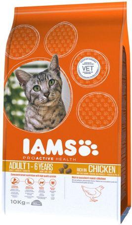 Iams Cat Adult Chicken   Csirkehúsos száraztáp felnőtt macskáknak