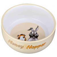 Trixie Honey & Hopper kerámia tál kisállatoknak