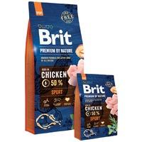 Brit Premium Sport száraztáp nagy energiaigényű kutyáknak