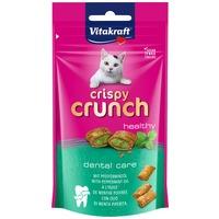 Vitakraft Crispy Crunch Dental Care borsmentás fogerősítő macskáknak