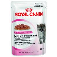 Royal Canin Kitten Instinctive Jelly - Zselés eledel kölyökcicáknak