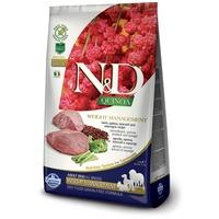 N&D Dog Grain Free Quinoa Weight Management Lamb – Súlykontroll