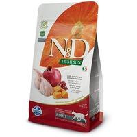 N&D Cat Grain Free fürjjel, sütőtökkel és gránátalmával | Szuperprémium száraztáp macskáknak
