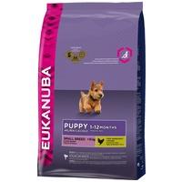 Eukanuba Puppy Small | Kutyaeledel kistestű kölyökkutyák részére | Szuperprémium száraztáp