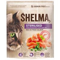 Shelma Adult Sterilised friss lazacból készült száraz macskatáp
