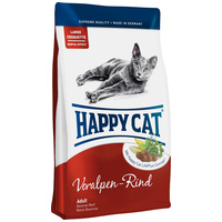 Happy Cat Supreme Fit & Well Adult Voralpen-Rind macskatáp Németországból