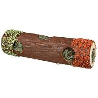 Trixie fa cső rágcsálónak szénával töltve