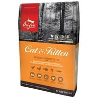 Orijen Cat & Kitten macskaeledel szárnyashúsokból, tojásból és halból