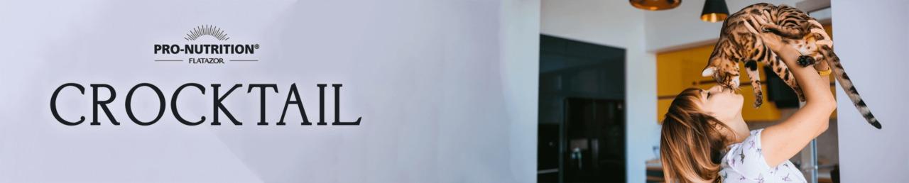 Flatazor Crocktail macskaeledelek