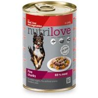 Nutrilove Dog aszpikos marhamáj zöldségekkel
