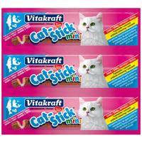 Vitakraft Cat-Stick Mini lazacos és pisztrángos jutalomfalat